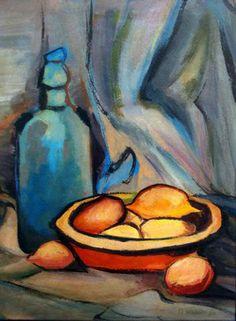 Natureza morta, 1966 Aldo Bonadei (1906-1974) óleo sobre tela colado em papelão, 39 x 28 cm