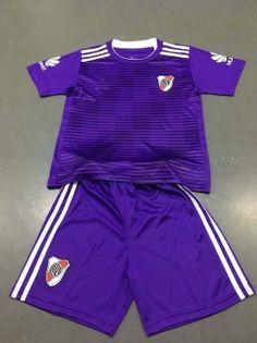 Sports Wear · Kids Youth River Plate 18 19 Wholesale Away Cheap Soccer Kit  Sale  N315 a9e9b7738