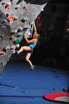 Alex Puccio -- my hero. Wish I could climb like her. It's my goal one day.