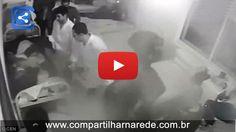 Vídeo chocante mostra momento em que enfermeiros espancam paciente e o deixam correndo risco de morte