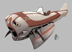 Plane Design, Aaron Ong on ArtStation at https://www.artstation.com/artwork/o6Boz