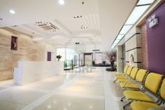 Photo about Modernization of the office lobby, reception area. Image of design, hall, real - 9187816