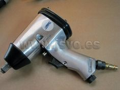 """• Llave - Pistola de impacto ABAC ½""""(12,7mm) con juego de 4 vasos • Medidas de los vasos: 15-17-19-21mm • Caudal: 280 l/min • Presión: 6 bar (87 psi) • Mod.: 8973005871 www.jsvo.es"""