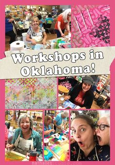 Photos of the Workshops in Oklahoma