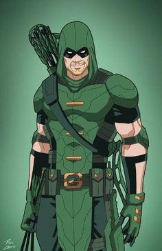 imagenes de flecha verde comic