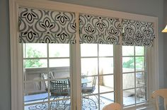 DYI: NO sew roman shades. I can not wait to do this in my house.