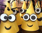 Muchos productos de miniones DESPICABLE Me CONED Birthday Party Hats - Despicable Me 2 - Despicable Me Birthday Party - Minion- P.S. Kreative Kreations