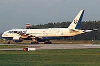 VP-BLA Orenair (Orenburg Airlines) Boeing 777-2Q8(ER)