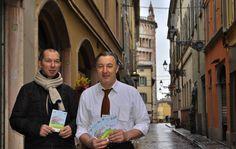 26 Marzo: in attesa del sole, tra i borghi storici di Parma i negozianti del Comitato Zetatielle si preparano per la Festa di Primavera di sabato 28 marzo.