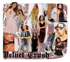 """""""Velvet Crush"""" by lasula on Polyvore featuring velvet and lasula"""