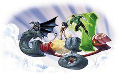 40.º aniversario de Comic-Con - Diseñado por Jim Lee © DC Comics