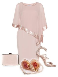 """Plus size cocktail dress."" by cardigurl ❤ liked on Polyvore featuring Judith Leiber, Gina Bacconi and Coccinelle"