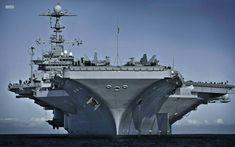 HD wallpaper: gray metal warship, the carrier, American, atomic, George Washington George Washington, Military Weapons, Military Aircraft, Navy Wallpaper, Navy Aircraft Carrier, Us Navy Ships, United States Navy, Battleship, Offroad