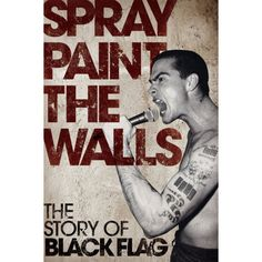 15 best punk books images on pinterest punk rock books and brain spray paint the walls the story of black flag book fandeluxe Gallery