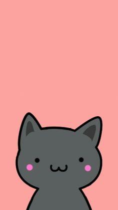 Cartoon Iphone Cat Wallpaper Hd