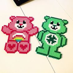 Care Bears hama beads by legosmurfen