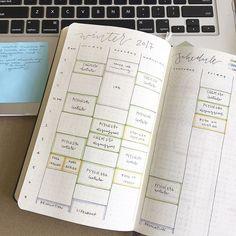 w e e k l y • s c h e d u l e    #bujo #bulletjournal #organized #handwriting #handlettering #schedule #study #studyblr