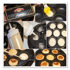 Dutch Recipes, Gourmet Recipes, Poffertjes Recipe, Takoyaki Pan, Mini Pancakes, Dutch Pancakes, Healthy Vegetable Recipes, Braised Beef, Kitchens