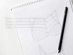 Mundo Artesanal: Sutiã de tiras | Strappy Bra - DIY (Passo a Passo)