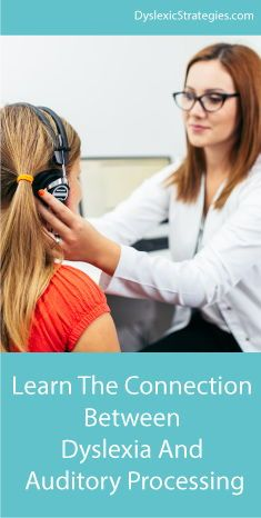 Dyslexia and Auditory Processing - Dyslexic Strategies Auditory Processing Activities, Auditory Learning, Dyslexia Activities, Dyslexia Strategies, Learning Disabilities, Reading Strategies, Sensory Processing Disorder Treatment, Auditory Processing Disorder, Sensory Disorder