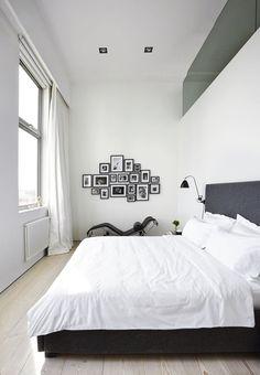 Apartamento com vista para o Tâmisa em Londres, Inglaterra, Reino Unido. Arquitetura: Dominikus Stark. Fotografia: Andreas Mikkel Hansen e CPH Nest.