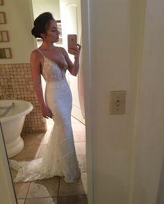 Gorgeous #BERTA bride Jennifer ♥