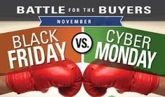 Battle for the Buyers: Cyber Monday vs Black Friday.