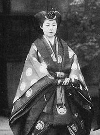 Princess Takamatsu was a member of the Japanese Imperial Family. The Princess was the widow of Prince Takamatsu (Nobuhito), the third son of the Emperor Taishō and the Empress Teimei. She was, therefore, a sister-in-law of the Emperor Shōwa and an aunt of the present Emperor, Akihito. She was mainly known for philanthropic activities, particular her patronage of cancer research organizations. At the time of her death, Princess Takamatsu was the oldest member of the Imperial Family.