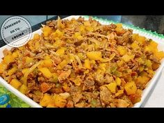 Tostadas, Tacos, Carne Adobada, Chimichanga, Frijoles, Burritos, Mashed Potatoes, Grains, Rice
