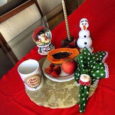Café da manhã pôs Natal...