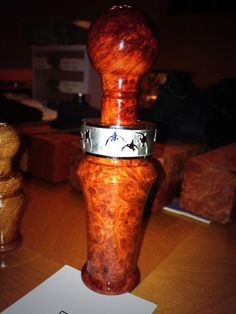 Real Calls duck calls, with Patented insert.
