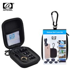APEXEL 5 in 1 Telephoto Lenses Fisheye Wide Angle Macro Lentes CPL Mobile Phone Lens For iPhone 7 8 X Samsung Smartphone. Subcategory: Mobile Phone Accessories & Parts. Product ID: Camera Zoom Lens, Iphone Camera Lens, Fisheye Lens, Galaxy S7, Samsung Galaxy, Smartphone Price, Android Smartphone, Iphone 6, Iphone Photography
