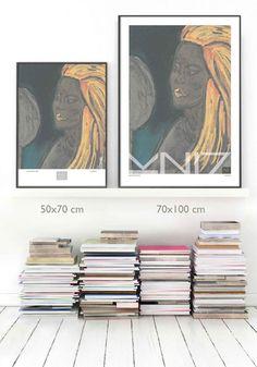 VuorjokiDesign-poster-art-print–Sizes-shop Artist Signatures, All Poster, Bold Colors, Finland, Graphic Design, Art Prints, Mirror, Artwork, Shop
