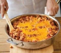 Cheesy Beefy Macaroni Skillet   All On Your Plate