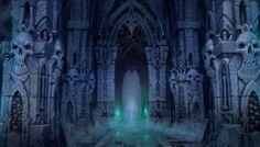 Concept Arts de Darksiders II, por Jonathan Kirtz