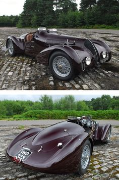 #1938AlfaRomeo 6C 2300B #Mille Miglia #Spyder#VintageCar #CollectorsCar #ClassicCars #SpecialityCar #AntiqueCar