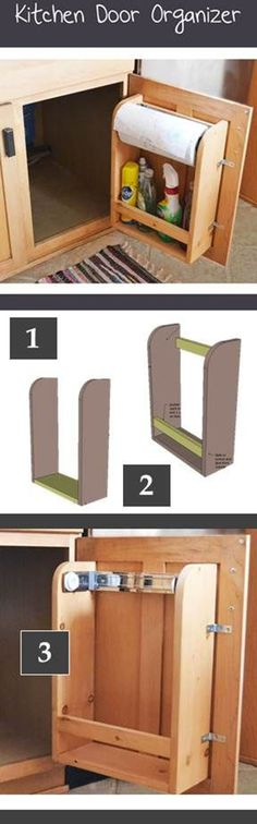 Kitchen Door Organizer | DIY & Crafts Tutorials