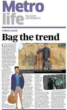 Published Coverage - Deccan Herald (Metro Life) - Banglore