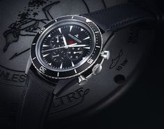 Jaeger-LeCoultre Deep Sea Chronograph Cermet angleview