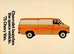 1971 Chevy Van Ad