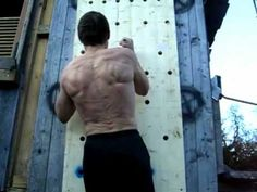 Ninja Warrior - Peg-Board Climbing (Upper-Body Strength Training) - YouTube