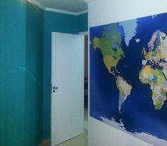 Mapa Mundi para marcar, viagem, lugares visitados com ícones