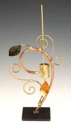 Infinity Art in Metal Happy Hanukkah Dreidel. $100. http://www.jewishgiftplace.com/Infinity-Art-in-Metal-Happy-Hanukkah-Dreidel.html