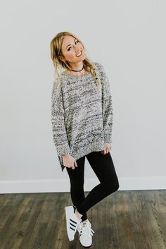 White Noise Sweater