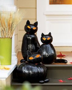 Black Cat O' Lanterns - Cosmopolitan.com