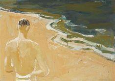 David Park, 1954, The Beach