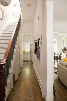 wood flooring/stairs