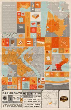 dataviz map illustration graphisme couleurs