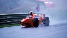 Michael Schumacher (GER) (Scuderia Ferrari Marlboro), Ferrari F300 - Ferrari Tipo 047 3.0 V10 (RET) 1998 Belgian Grand Prix, Circuit de Spa-Francorchamps © Scuderia FerrariMichael Schumacher (Belgium 1998) by F1-history