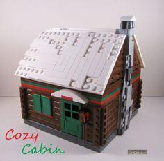 Winter Village Cozy Cabin